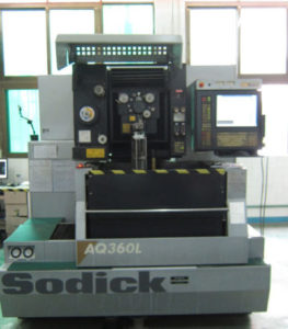 Slow wire cut equipment