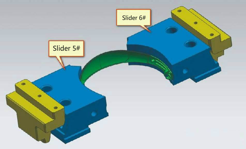 slider for plastic injection mold