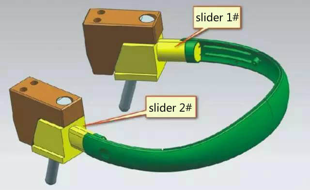 sliders for plastic injection mold