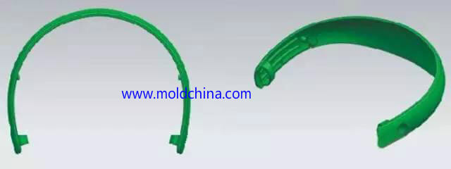 undercuts in plastic injection molding product