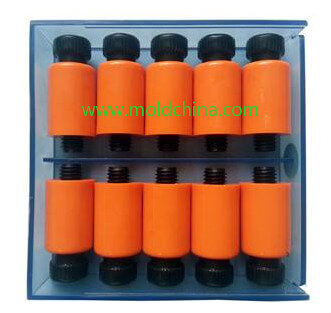 nylon lock for plastic injection mold