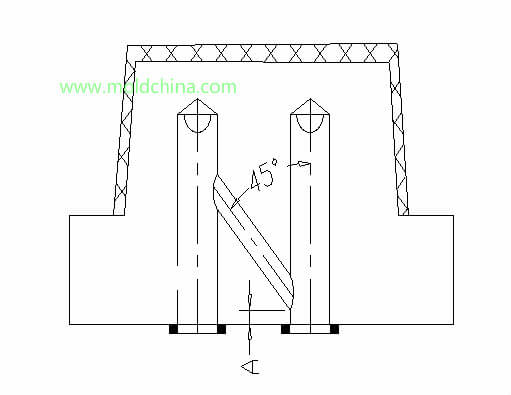 plastic injection mold cooling tower