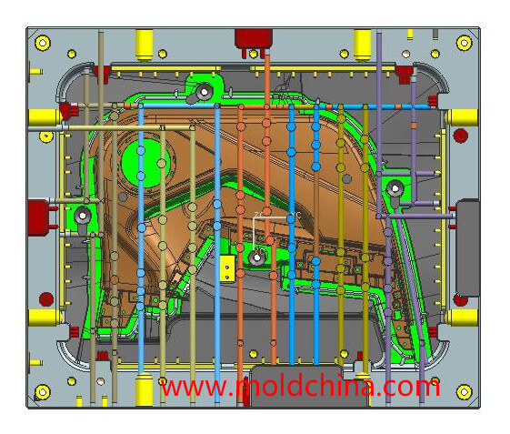 injection mold cooling