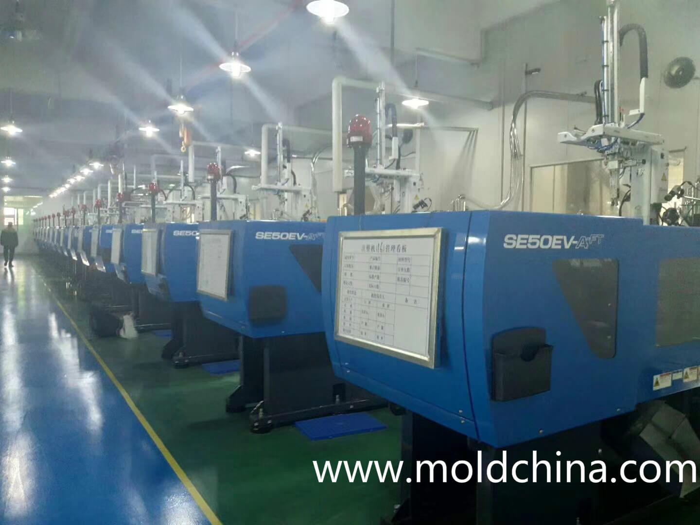 injection molding factory in China