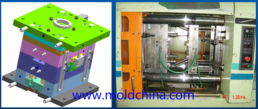 injection mold cooling system